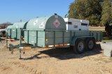45 KW Doosan Generator - 500 Gallon Fuel Tank w/ Pendlehitch Trailer