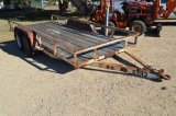 2005 Flatbed Utility Trailer 16 FT- TITLE