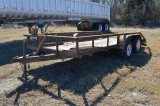 16 FT Utility Trailer -BOS