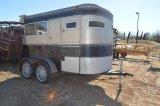 2 Horse Bumper Pull Trailer