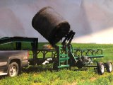 Automatic Hay Hauling System - Round Bale Loader - Trailer and Loader - Eliminates use of Tractor -