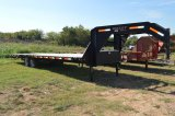 2013 Maxey 30FT Gooseneck Hydraulic Dovetail 2- 7,000 16 Axels - TITLE COMING