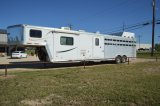 2012 Bison Stock/Combo - with Living Quarters, Mid-Tack, Slide Out, Full Kitchen, Full Bathroom,