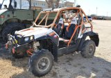 2014 Polaris RZR -Replacement front and rear bumpers, wench, light bars, Bluetooth Speaker - Hours