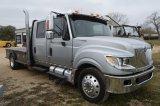 2013 Silver International Terrastar Crew Cab/Flatbed Allison Automatic - Miles Read -132,000