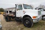 1995 International Flatbed DT466 Diesel 5Spd Miles Read - 174,000