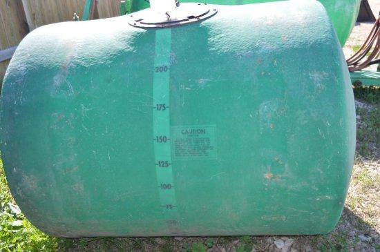 250 Gallon Poly Tank - Green