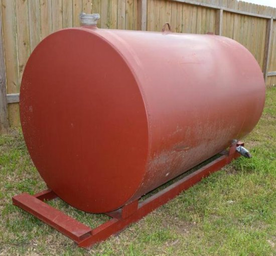 500 Gallon Fuel Tank (red)