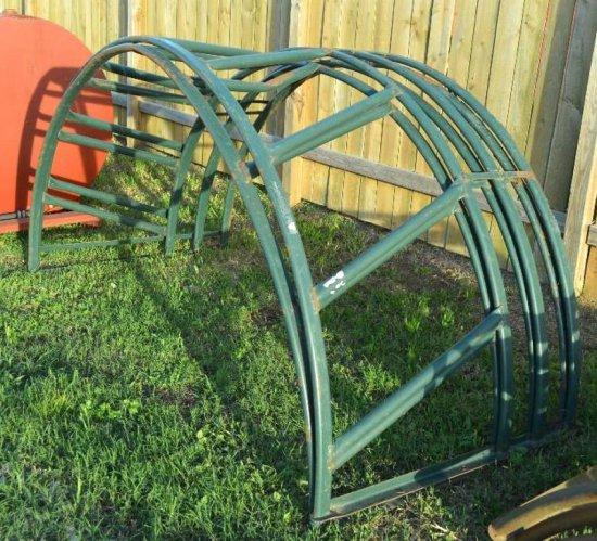 Round Bale Rack - green