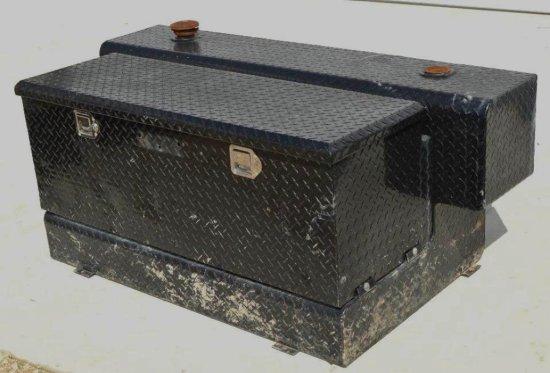 Black Tool Box w/80 gallon Diesel Tank