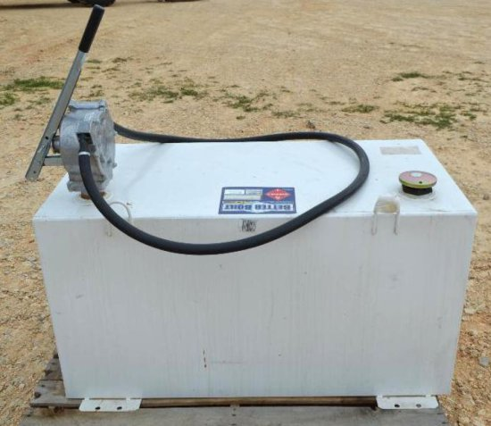 100 Gallon Diesel Fuel Tank w/Hand Pump