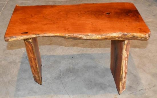 Handmade Mesquite Youth Bench