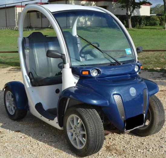 2002 Gem E825 Electric Car Curly Not Running