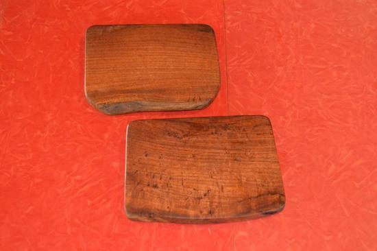 """Mesquite Set of 2 Coasters 5"""" x 6"""""""