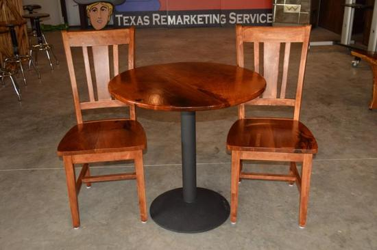 Mesquite Table with 2 Chairs