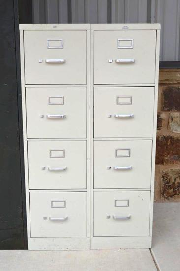 2 - 4 Drawer File Cabinets