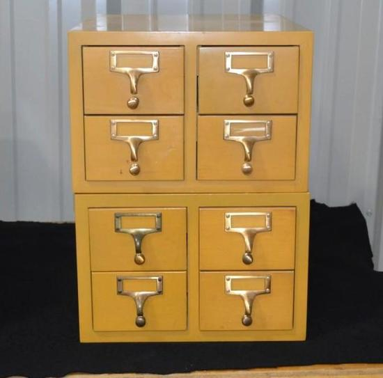 Set of 2 File Boxes