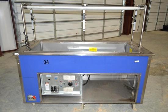 Atlas Metal Industries Food Warming Station/Table