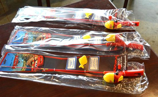 Cars Youth Fishing Poles - All New - All 1 Lot