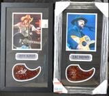Jason Aldean and Zac Brown Framed & Autographed Collection