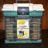 Fishing 4 Drawer Tackle Box Filled with Lures