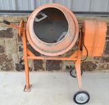Central Machinery Electric Concrete Mixer 3.5 cubic feet
