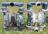 Set of 2 Ingersall Rand Pneumatic Pumps