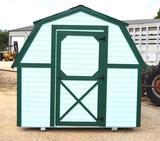 8' x 8' Mini Barn Storage Building *NEW*