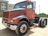 1995 International 8100 DT466 Single Axle, 6 speed manual transmission, AC, Diesel