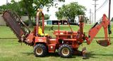 2004 Ditch Witch 3700 Trencher w/ Side Shift & Backhoe Attachment