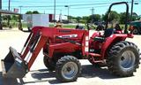 2008 Mahindra 2816 Front End Loader, 4WD, Diesel, 28hp, hrs read 335