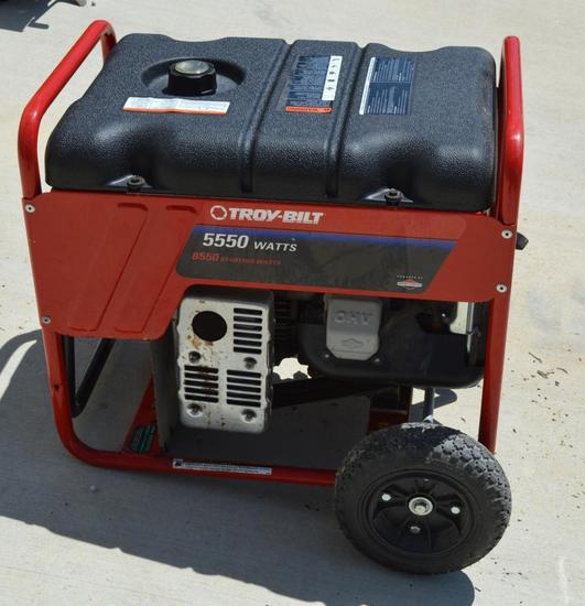 Troy-bilt 550w Generator with 10hp Briggs & Stratton Motor