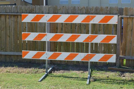 6 Construction/Road Barricades