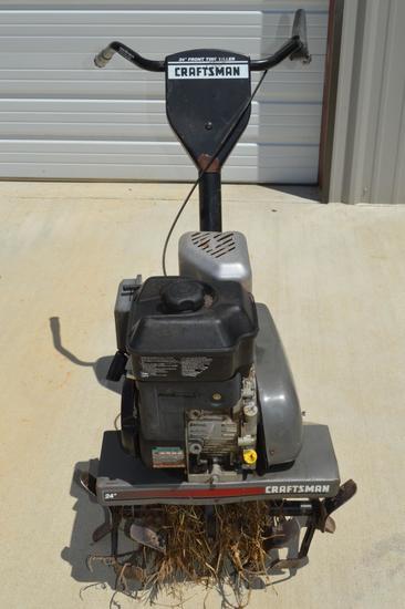 """Craftsman Tiller 825/24"""" w/ Briggs & Stratton 825 Series Motor"""