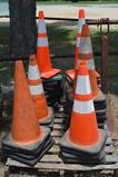 Pallet of 39 Construction Cones