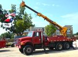 1997 International 4900 Terex Commander 4045 Digger Derrick *Current Dielectric Certified* comes w/