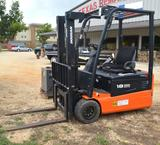 2007 Doosan Pro 5 B18T Electric Forklift with FLX 2000 Charger