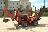 2004 Ditch Witch 3700 Trencher w/ Side Shaft and Backhoe Attachment