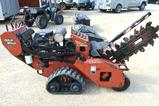 2012 Ditch Witch RT20 Trencher - Gas, Hours Read 356, New Hydraulic Motor Honda GX630 Motor