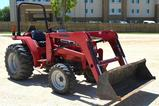 2008 Mahindra 2816 Front End Loader, 4WD Diesel, 28 hp, Hours Read 335