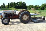 1954 Ford 800 Tractor w/Shredder