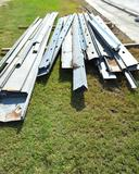 Assorted Sizes and Lengths of Galvanized Purlins (2