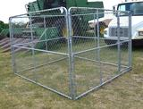 Chain Link Dog Pen/Fence 10x10x6