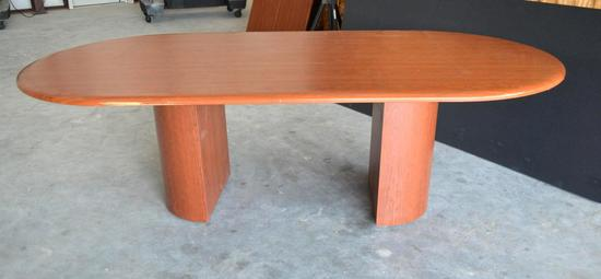 8 ft.Oval Conference Table