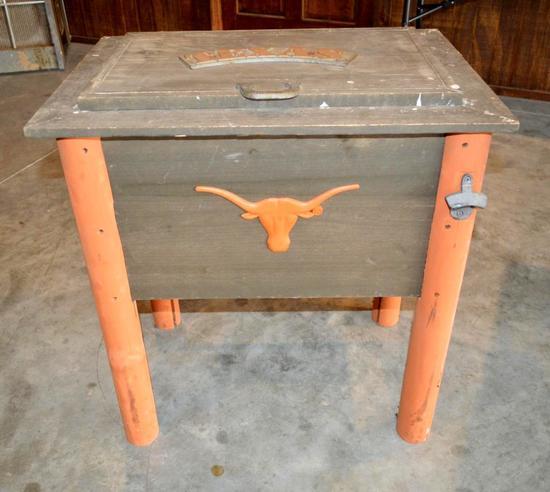 Texas Longhorns Ice Chest