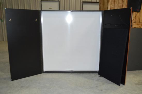 Magna Design Wall Mount Dry Erase Cabinet
