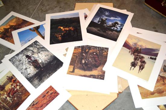 Cowboy Artists of America Print Collection Portfolio