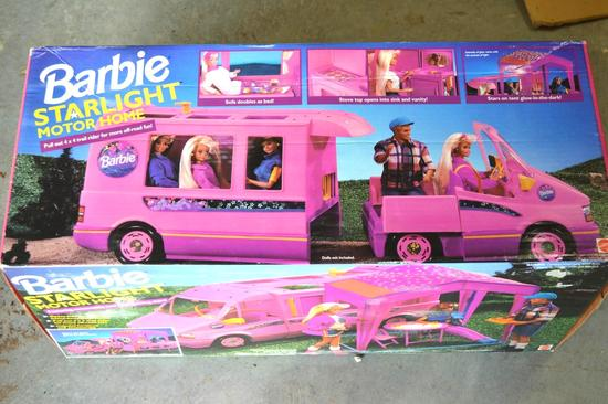 Vintage Collectible Barbie Starlight Motor Home *UNOPENED BOX*