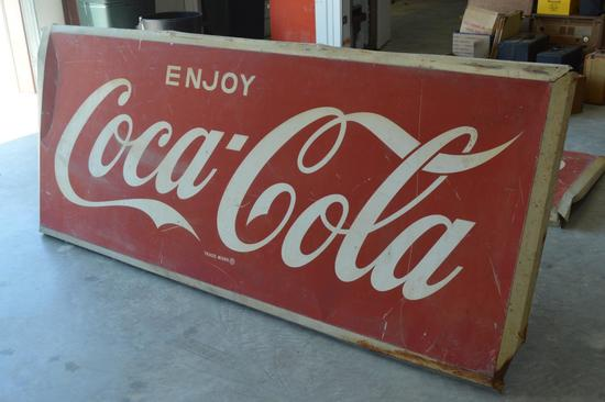 Vintage / Antique Coca Cola Sign