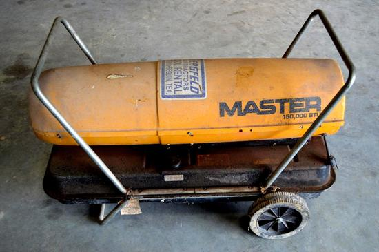 Master B150C Kerosene/Diesel Torpedo Heater 150,000 btu